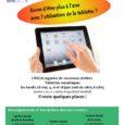 Atelier Tablettes Numériques Mai-Juin Renseignements et inscriptions : Centre Social […]
