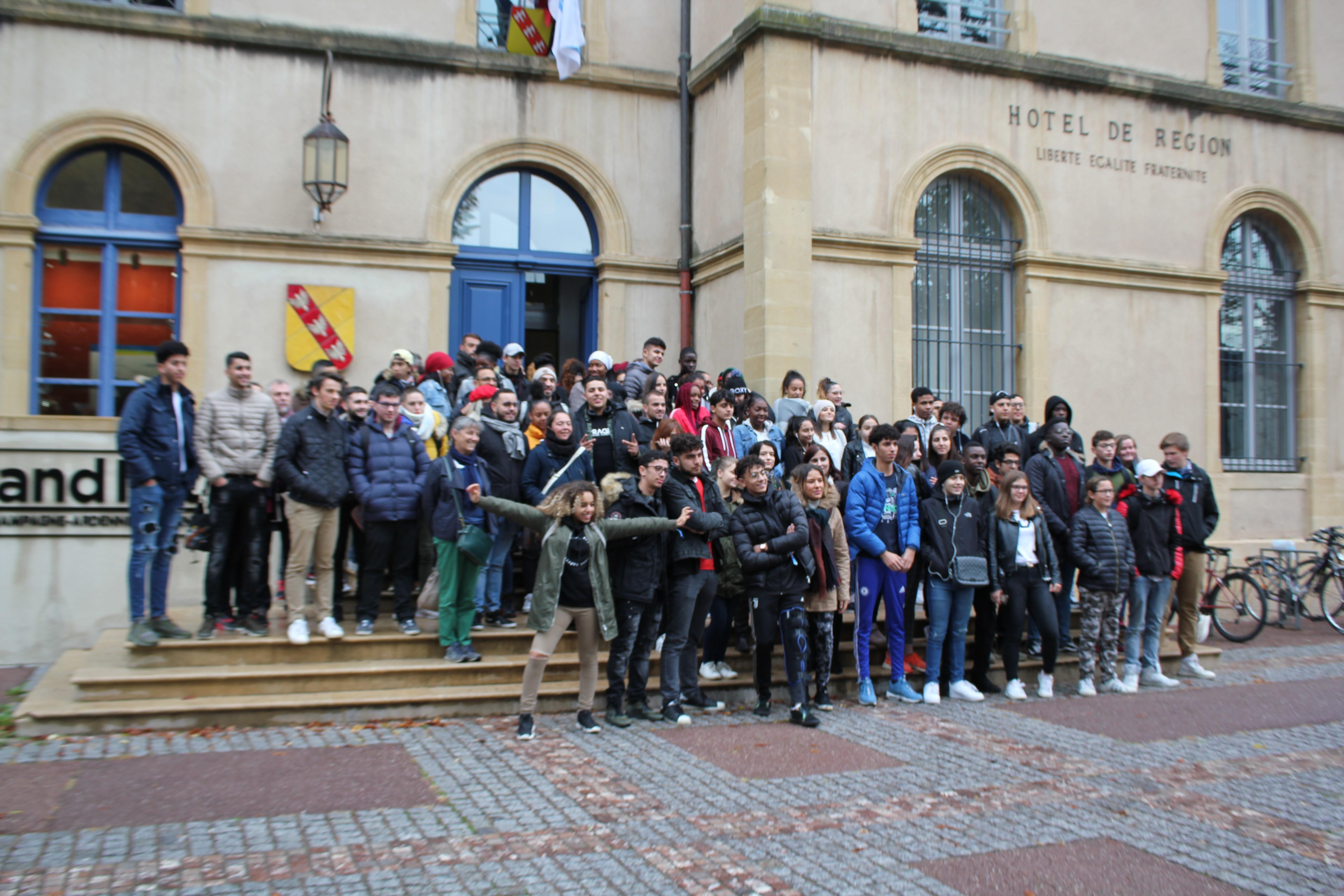 estitution des propositons pour lutter contre le sexisme au Conseil Régional de la Région Grand- Est à Metz