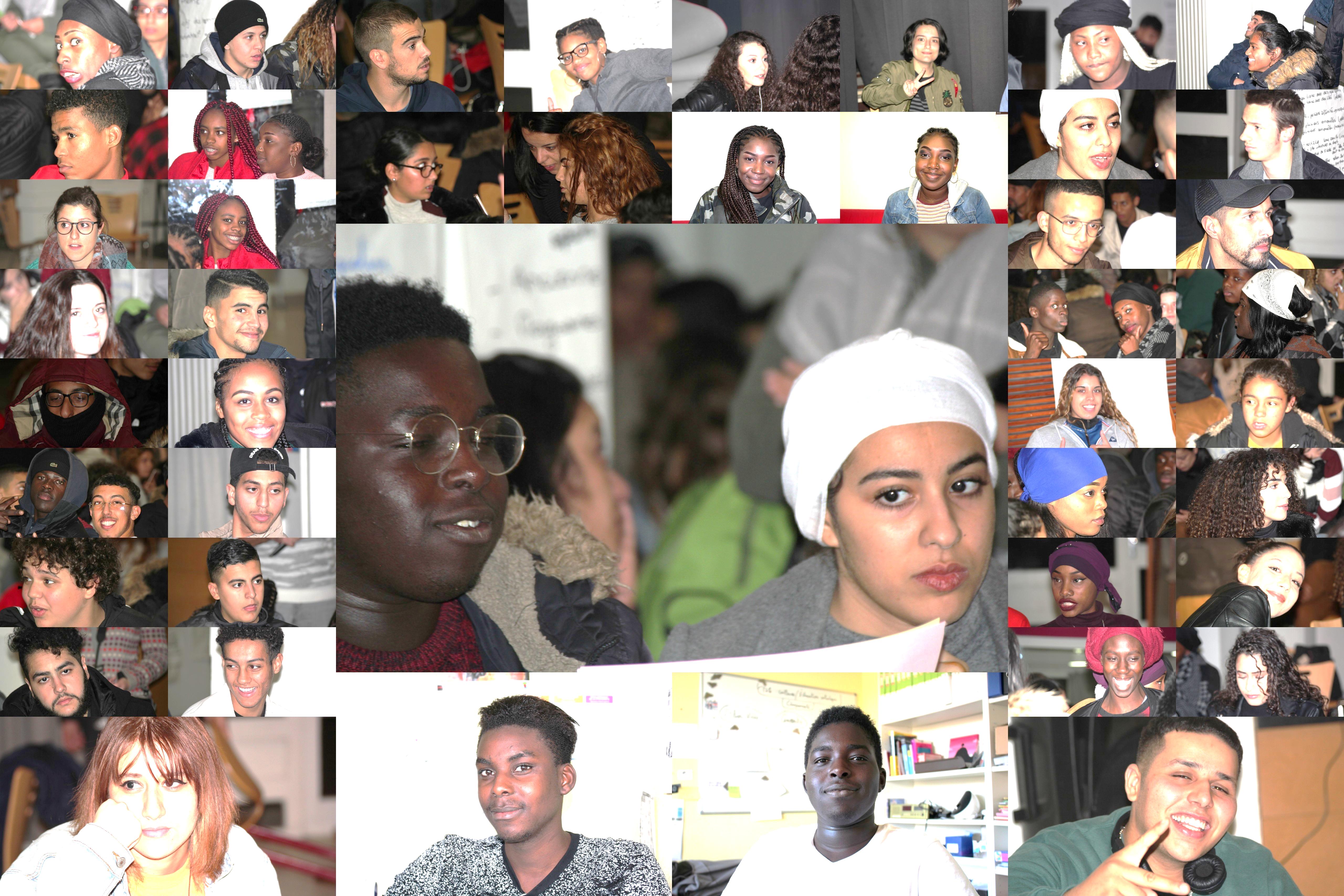 Quelques  participants au Réseau Jeunes des Centres Sociaux de France