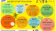Voici le programme des vacances d'été du Clos de l'Arche. […]