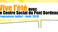Le centre Social du Pont Bordeau vous propose de nombreuses […]