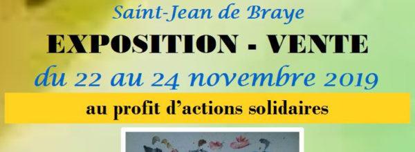 Exposition solidaire 2019 22 au 24 novembre
