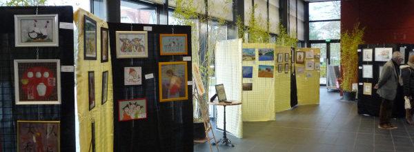 L' exposition «art et matières» : Une exposition, pas tout à fait comme les autres…