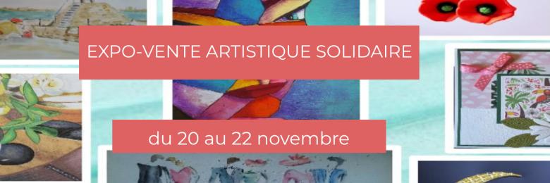 Expo-vente artistique solidaire de l'ASCA